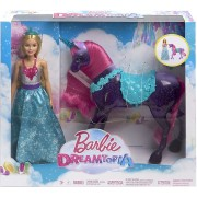Barbie Dreamtopia Princess Doll and Purple Unicorn FPL89