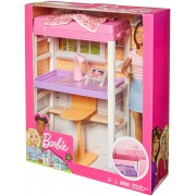 Barbie FXG52 Deluxe Furniture Bunk Bed Set with Desk and Doll Rotaļu komplekts - gulta