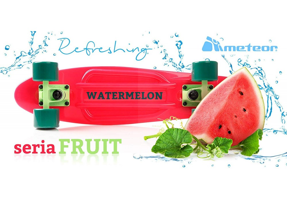 Skrituļdēlis Meteor Fruit Watermelon 23997