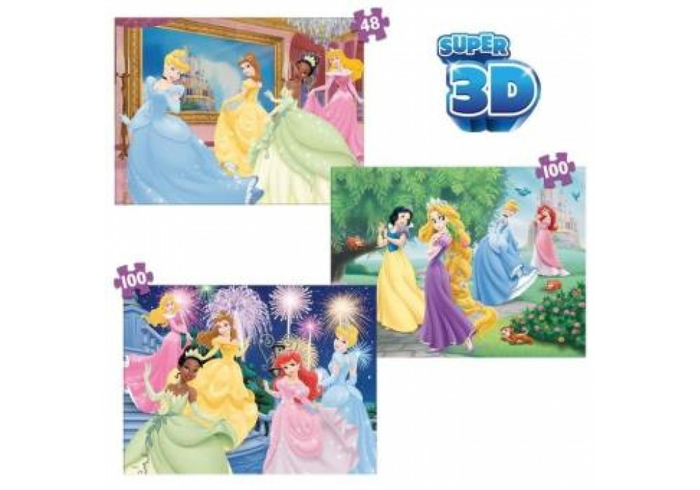 3D puzles Princeses Spin Master 6033052