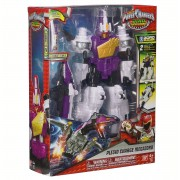 Transformers Power Rangers Dino Supercharge Deluxe Plesio Charge Megazord Bandai 43098