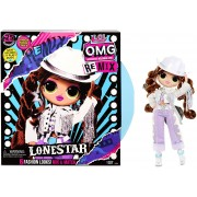 Lol Surprise! OMG Remix Lonestar Fashion Doll - 25 Surprises with Music