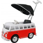 Braucammašīna Mini buss VW Bus T2 Rollplay red / white