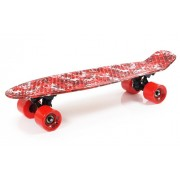 Skrituļdēlis penny board SMJ Sport UT-2206 RED JUNGLE