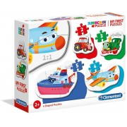 Clementoni My first puzzles 20811 Transports (2+3+4+5 gab.)