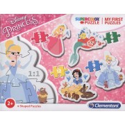 Clementoni My first puzzles 20813 Disney Princess (3+6+9+12 gab.)