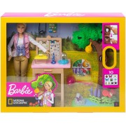 Barbie GDM49 Barbie Insect Researcher Doll and Playset Rotaļu komplekts