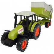 Claas Tractor With Trailer Dickie Toys 203736004