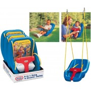 Little Tikes 2in1 Secure Swing ārā šupoles