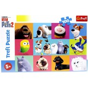 Puzle The Secret Life of Pets 2 100 gab. Trefl 16357