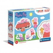 Clementoni My first puzzles 20829 Peppa Pig (3+6+9+12 gab.)
