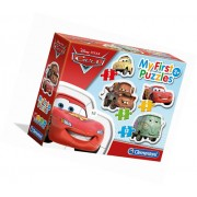 Clementoni My first puzzles 20804 Cars (3+6+9+12 gab.)
