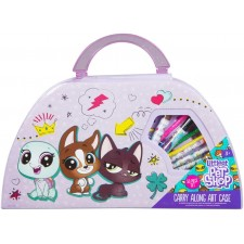 Gleznošanas koferis (50 det.)  Littlest Pet Shop Sambro LPS-4139