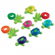 Bruņurupucis-sorteris spēlei ūdenim Shell Turtles Smart Splash Learning Resourse LER 7303